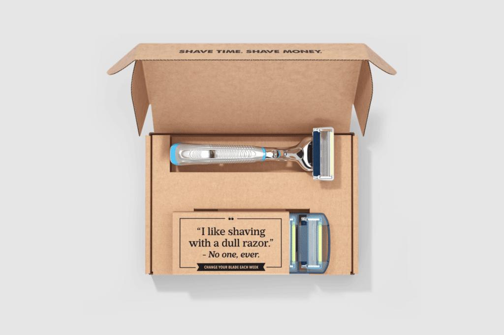 Packing for shaving kits